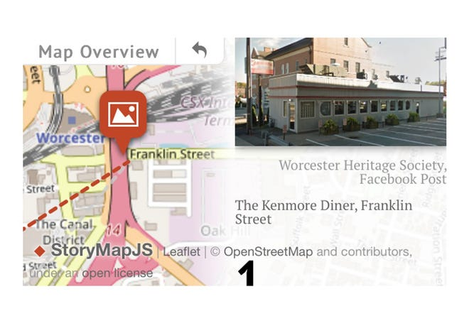 Handheld Worcester aims to give Holy Cross students virtual tour of city.