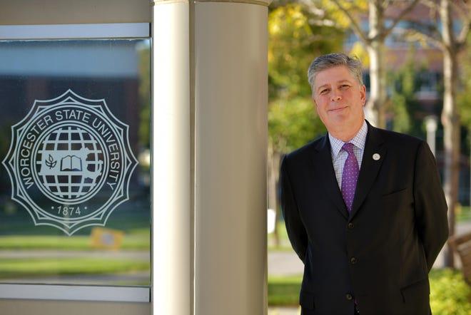 Worcester State University President Barry M. Maloney