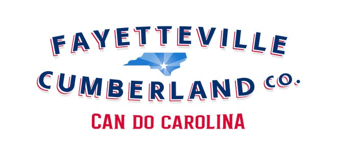 This logo is part of a branding campaign announced by the Fayetteville Cumberland Collaborative Branding Committee.
