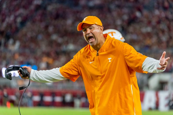 Tennessee head coach Jeremy Pruitt is on the hot seat after not fulfilling the expectations during his tenure in Knoxville.