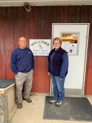 Larry and Dianne Coulter have decided to retire.