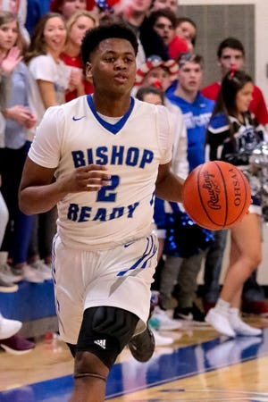 """Senior P.J. Daniels is one of the top returnees for a Ready boys basketball team that features a deep roster. """"We have two things going for us in that we have a ton of experience back and we have a ton of depth,"""" coach Tony Bisutti said."""