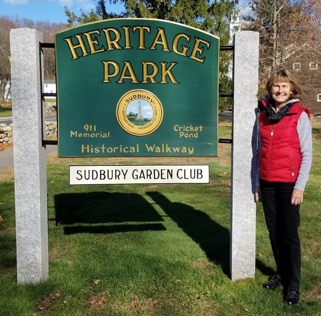 The Garden Club Federation of Massachusetts recently awarded the Sudbury Garden Club a Civic Development and Historic Landscape Grant of $500.