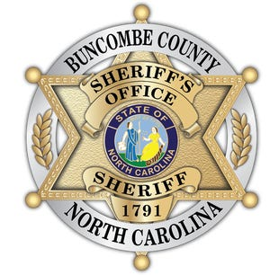 Badge of the Buncombe County Sheriff's Office