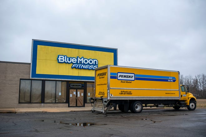 Blue Moon Fitness closes for good, pictured on Monday, Nov. 30, 2020 in Battle Creek, Mich.