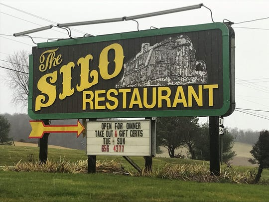 The Silo Restaurant, six miles west of Greene, is for sale
