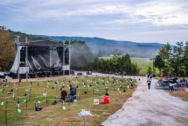The Caverns Above Ground Amphitheater in Pelham, Tenn. will continue to host socially distanced concerts in 2021.