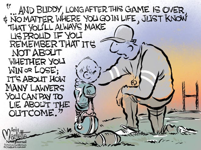 Trumpian advice to a child.