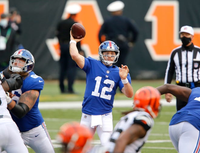 Former Browns quarterback Colt McCoy will be the starter for the New York Giants against the Browns on Sunday night. [Joseph Maiorana/USA TODAY Sports]