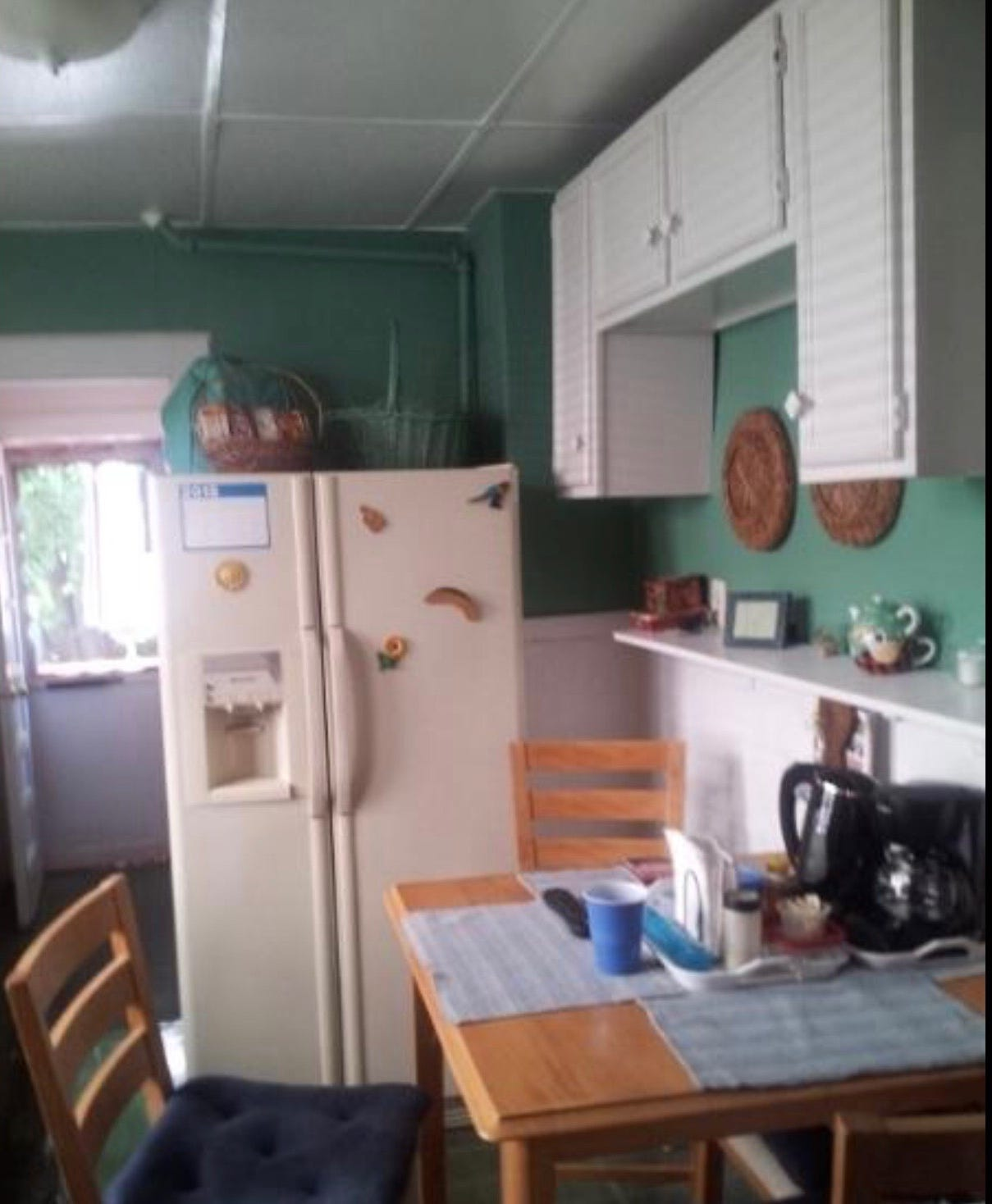 Inside Shaylah Brown's grandparents' kitchen in Hillside, New Jersey, where Shaylah Brown often sat around the table with her family on Friday nights.