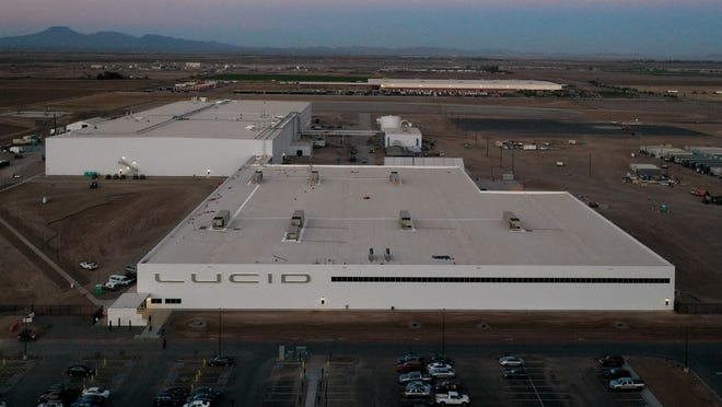 Lucid has announced its Casa Grande factory is complete and will begin producing tens of thousands of electric cars in the spring of 2021.
