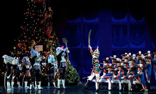 The Nutcracker performed by the Carolina Ballet Theatre