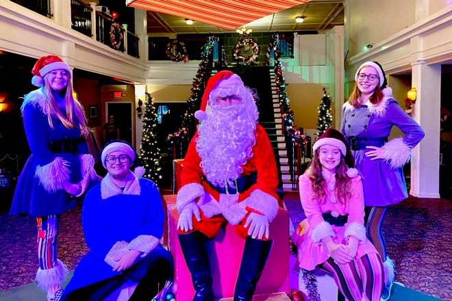 Children can visit with Santa Claus and his elves at Santa's House in the Wichita Theatre's Santa's North Pole Adventure that opens at 11 a.m., 1 p.m., 4 p.m. and 6 p.m. Dec. 5 and runs through Dec. 19. They can also have their picture made with Santa. Tickets are available at wichitatheatre.com or by calling (940) 723-9037. Social distancing will be observed.