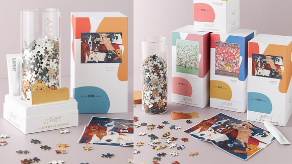 Best gifts on sale for Cyber Monday: Jiggy for Anthropologie puzzle