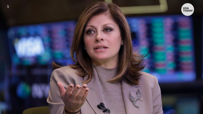Maria Bartiromo is one of three Fox News hosts who filed a motion to dismiss the $2.7 billion lawsuit filed against them and Fox News by voting-technology company Smartmatic.