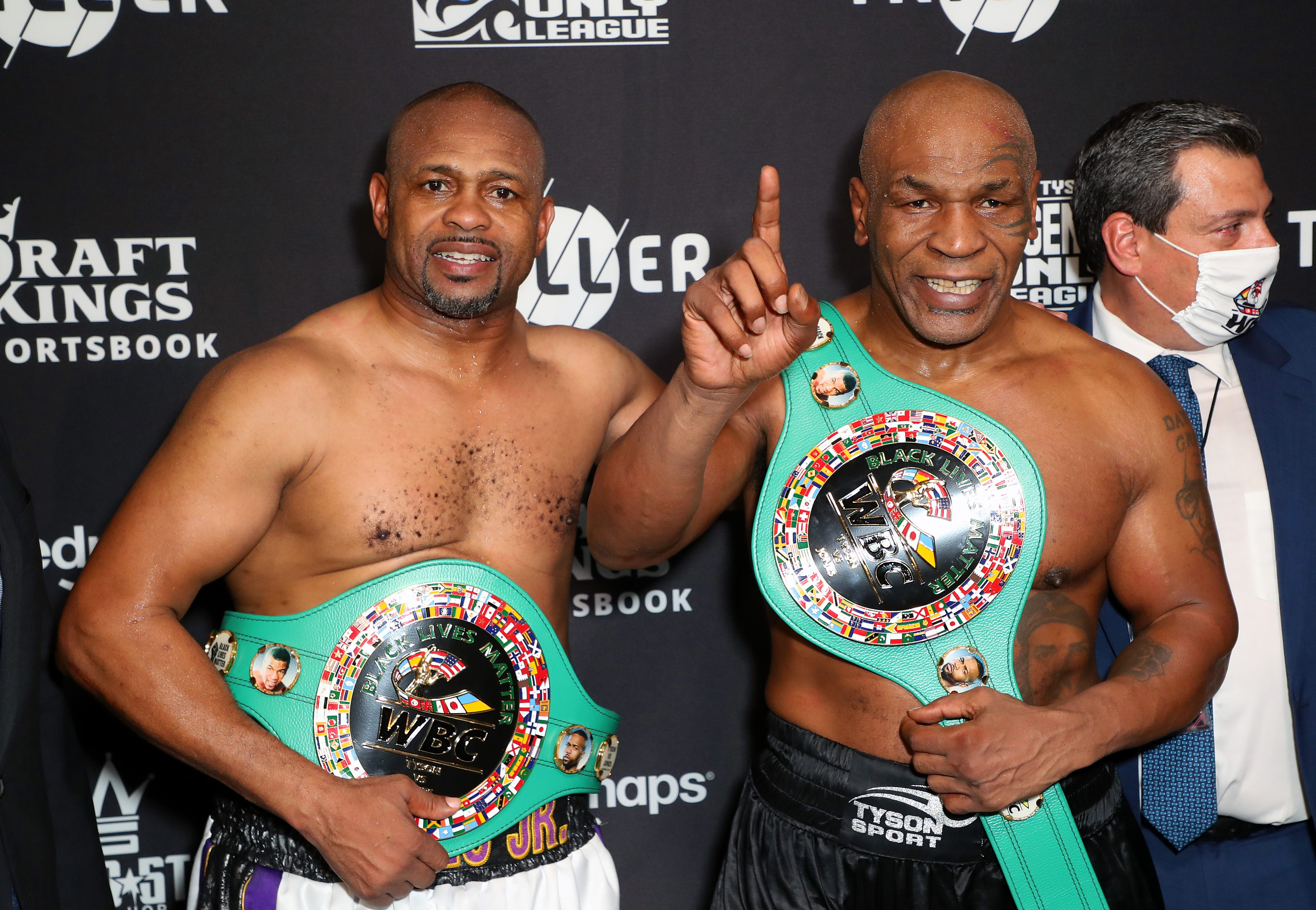 George Foreman envisions path for 54-year-old Mike Tyson to get heavyweight title shot; others are not convinced