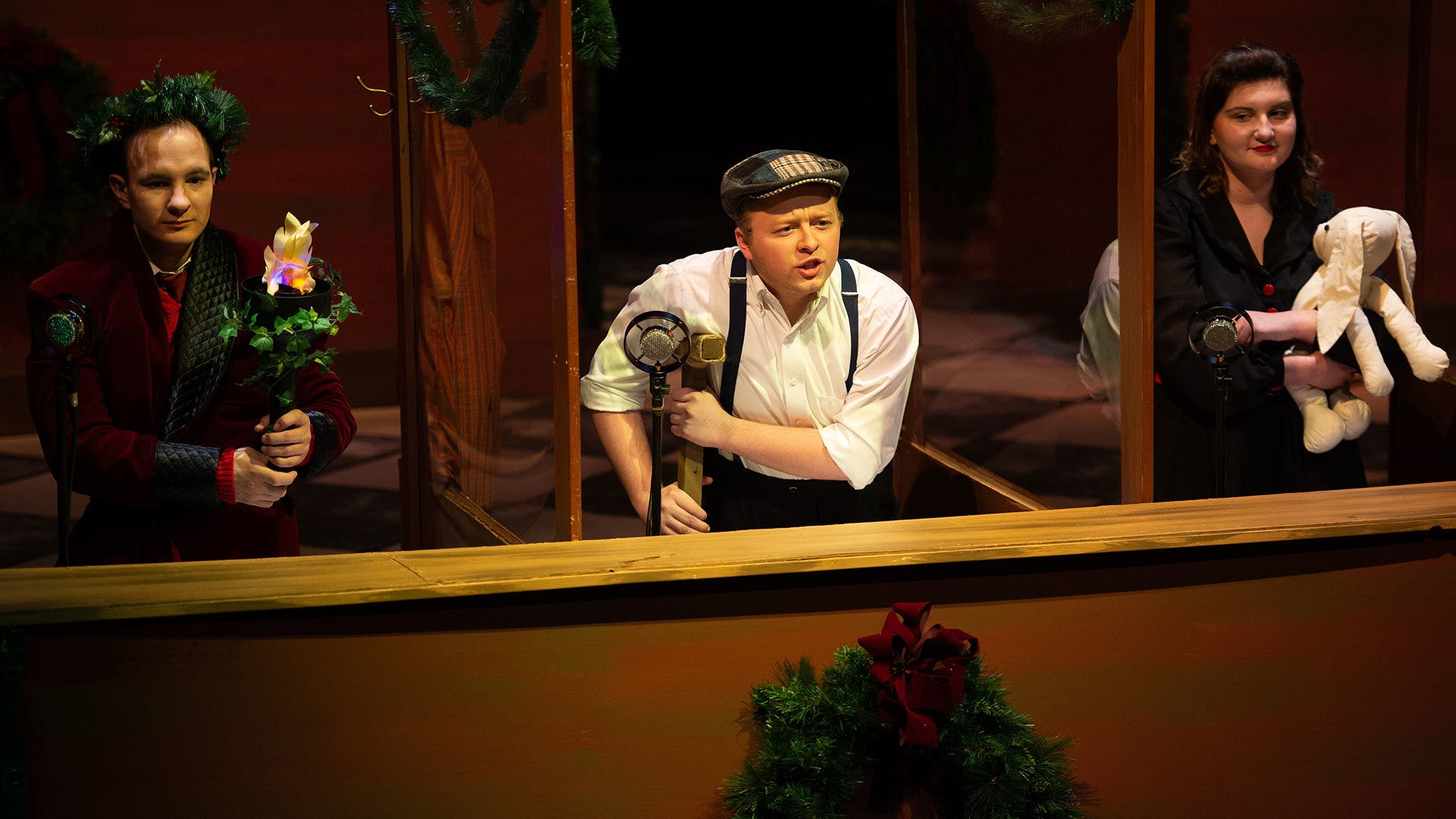 Amarillo actor part of 'A Christmas Carol' at Simpson College