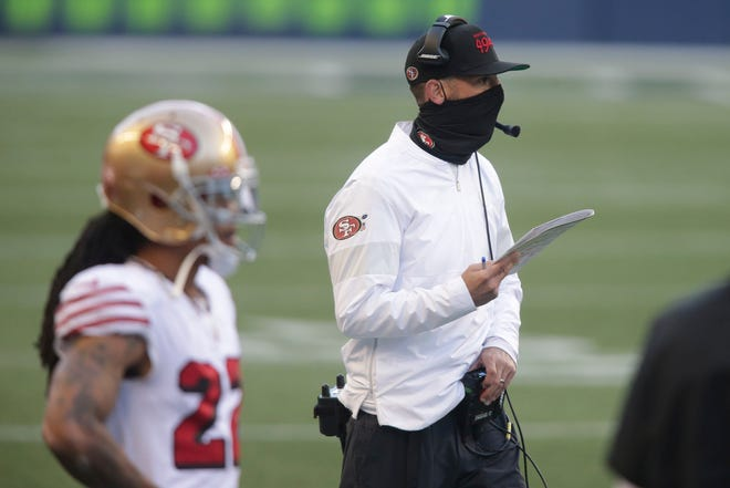 """""""I just try to tell our guys that I don't care what happens, we're not going to spend Christmas without our families,"""" Niners coach Kyle Shanahan said. """"We'll figure it out."""""""