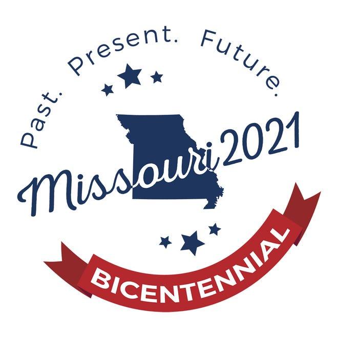 The Missouri bicentennial logo