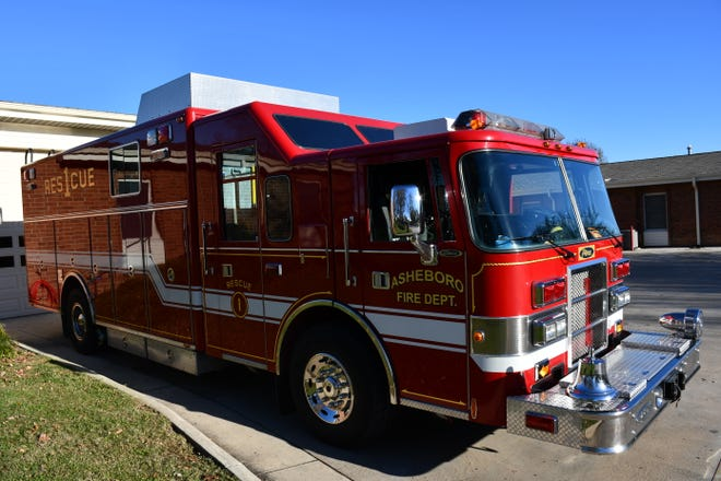 The Asheboro Fire Department bought a new heavy rescue truck.