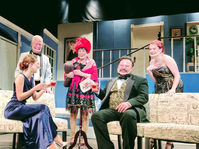 """The Melon Patch Theatre in Leesburg opens Neil Simon's """"Rumors,"""" Friday and it plays until Dec. 20."""
