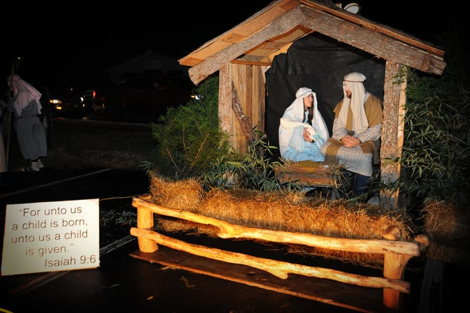 Tyro United Methodist Church will offer its annual Journey to Bethlehem drive-thru nativity this weekend on Dec. 5 and 6.