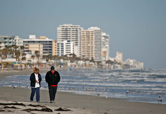 Because of the cold front, Christmas Eve will be rainy throughout Volusia and Flagler counties, according to meteorologist Melissa Watson.