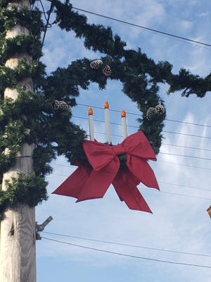 Wampum is getting ready for Light Up The Town on Thursday.