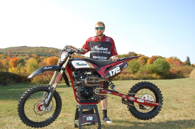 Alfred State alumnus and professional hill climb racer John Koester, a Hornell native, now has 10 national No. 1 titles and is sponsored by Indian Motorcycles.