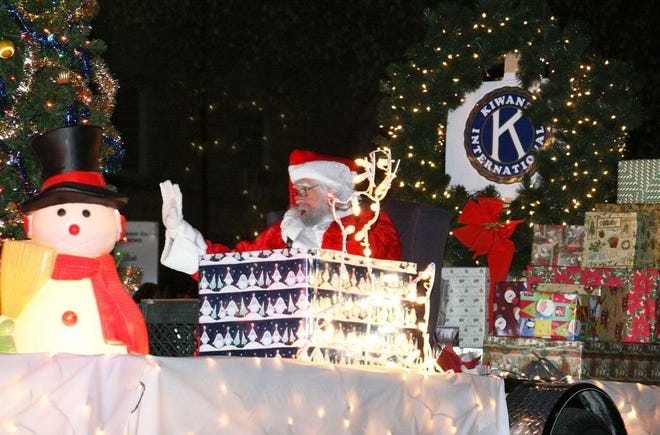 Daily Express file photo from a previous Christmas parade.