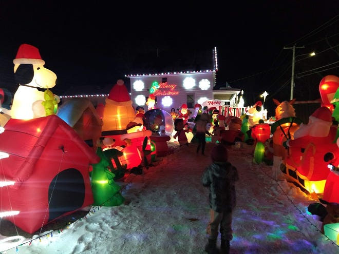 Christmas on Tolman, a holiday-themed display of inflatables that has become a tradition in North Leominster since it began in 2014, will not be held this year because of the COVID-19 pandemic.