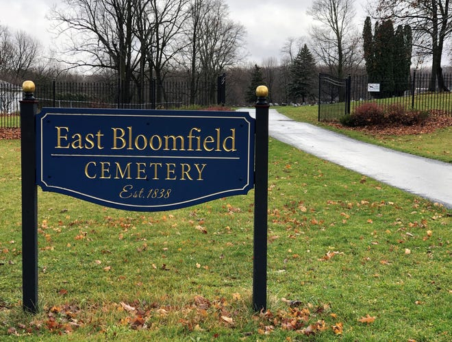 The East Bloomfield 1838 Cemetery is now offering green burials.