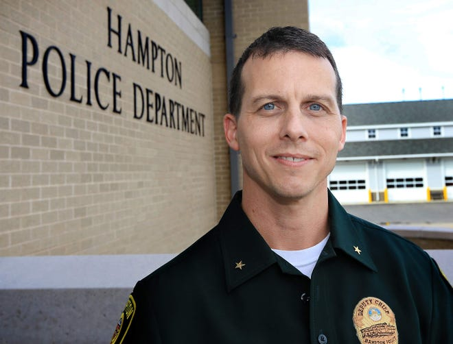 David Hobbs has been named the next police chief for the town of Hampton.