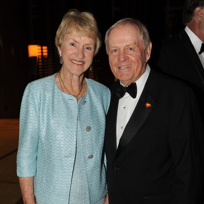 Barbara and Jack Nicklaus help support Nicklaus Children's Hospital through their Nicklaus Children's Health Care Foundation. The hospital launched a COVID-19 Relief Fund in March, and the 14th annual Diamond Ball gala scheduled for Thursday will benefit it.