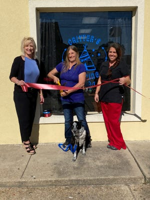A ribbon cutting and grand opening was held for Critters, Camping & Spa, 57910 Broadway St., in Plaquemine.