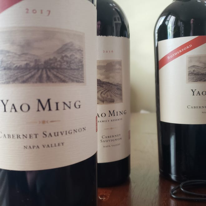 Yao Ming Wines sources prime vineyards in the Napa Valley.