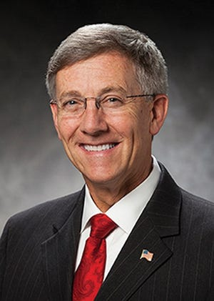 Walsh University President Tim Collins has announced seven initiatives, including student learning communities, automatic acceptance of transfer students and free courses for people aged 65 and over.