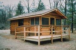 Minnesota state park camper cabin
