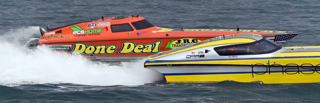 Suncoast Charities for Children will transition out of its role as primary organizer of Sarasota Powerboat Grand Prix, with Powerboat P1 taking a more traditional role in staging the race, according to a statement. Suncoast Charities for Children still plans to organize events surrounding the race.