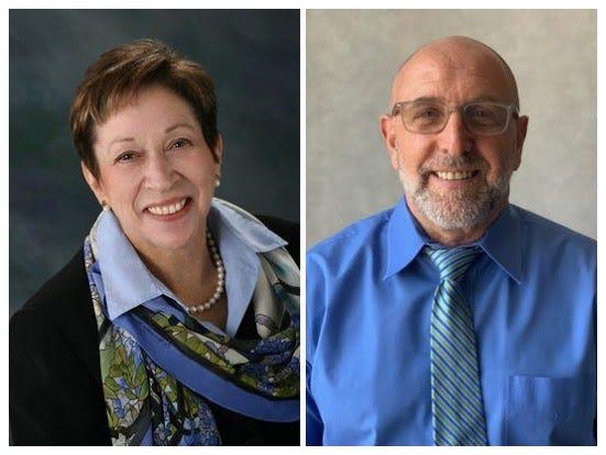 Roberta Schaefer, left, and Randy Feldman