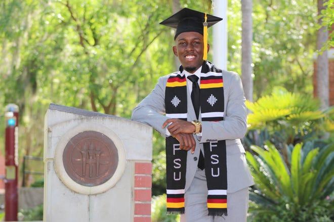 Tim Miles' graduation photo from Florida State University.