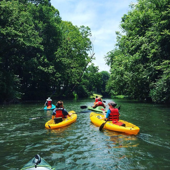 The 4-H River Kids camp allows members to explore the outdoors.