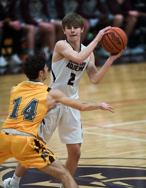 Junior guard Tanner Compton is the leading returnee for Columbus Academy after averaging 9.7 points and being named honorable mention all-league a year ago. The Vikings are striving to improve on last winter's 11-13 finish.