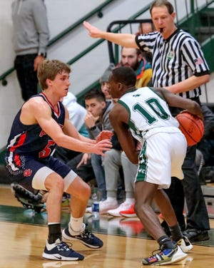 Senior guard Brock Waits (left) is the top returnee for Grove City. He averaged a team-high 19.4 points last season and was named first-team all-league and second-team all-district in Division I.