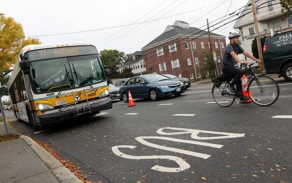Several MBTA bus routes in Arlington have been altered or suspended due to the pandemic.