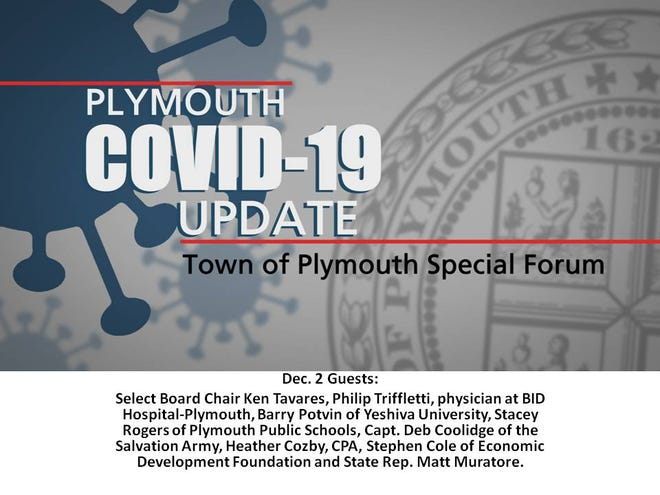 Scheduled guests for today's Plymouth COVID-19 Update on PACTV.