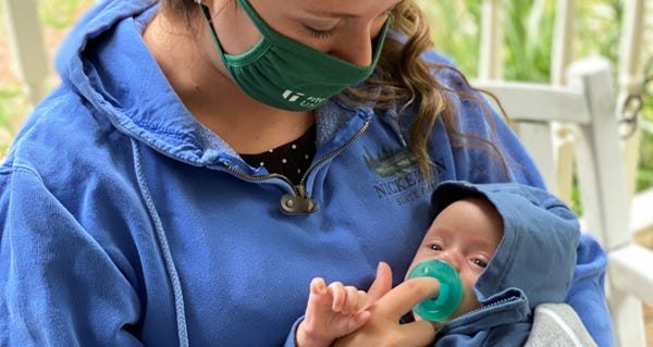 Support new parents during the pandemic.