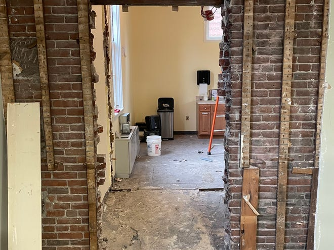 Renovations of the Concord Town House began on Nov. 16.