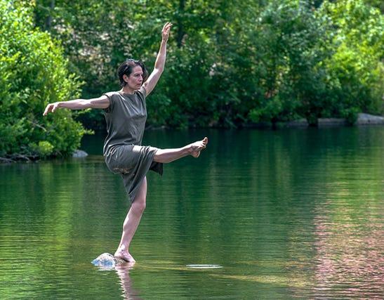 Alex Berger, a part of the Quarry Dance lX film.