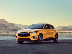 The all-electric Mustang Mach-E GT Performance Edition promises to accelerate to 0-60mph in 3.5 seconds. Ford Motor Company is hoping this vehicle, which will be available in the summer of 2021, will directly compete for Tesla Model Y customers.